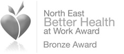 North East Better Health at Work Award Bronze Award